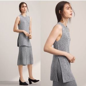 Aritzia Wilfred Palmier Heathered Grey S
